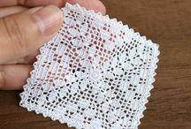 cuadrados al crochet