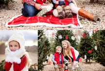 Christmas photos inspiration / Inspiration for Christmas themed photography sessions