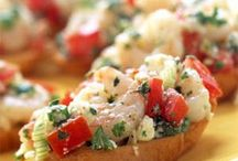 Appetizers - Bruschetta Crostini and  Flatbreads / by Betsy Pedersen