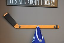 Layton hockey room