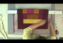 Basting a Quilt / by Purple Daisies Quilting