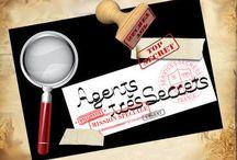 Fête agent secret / by Sabrina Couturier