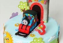 tortas niños vehiculos