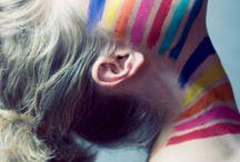 colours face