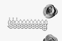 kwiaty z koralików / Rękodzieło