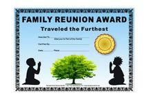 Family Reunion Ideas / by Bonnie Spiker Jackson