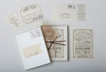 vintage wedding invitations / by Gourmet Invitations