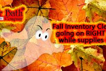 Fall Inventory Clearance / Snag awesome products from The Butter Bath Company at up to 40% savings while we make room for our Christmas inventory