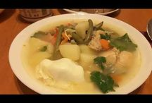 Vegetable broth. Zeamă de legume cu pui. Борщ с курицей. / Ingredients: chicken-500g, onions, carrots, potatoes, sweet potatoes, pepper, cabbage, green bean-250g, eggs-2, bortsch-1 litre, salt, peperocino, parsley. Prep time: 50 min. Ingrediente: carne de pui-500gr, ceapă, morcovi, cartofi, cartofi dulci, ardei gras, varză, fasole verde-250g, ouă-2 buc., borș acru-1 litru, sare, piper, pătrunjel. Durata preparării: 50 min. Ингредиенты: мясо куриное -500г, лук, морковь, картошка, сладкая картошка, перец, капуста, стручковая фасоль-250г, яйца-2шт, квас из