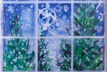 winter art lessons