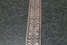 homemade belt / handmade leather belt