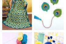 peacock crochet