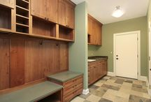 The Mud Room / Keep the mud and dirt out of your house with customized mud room storage and organization solutions