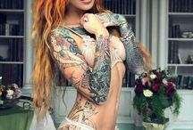 Girls with Tattoo's