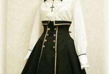고딕 드레스
