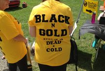 I bleed black and gold / by Holly Murphy