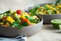 Salads Bowls, Plates & Dishes / Healthy vegan, vegetarian salads, vegan salads aka the best salads on the web