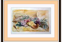 Dirk NeeRidsch Watercolor | Aquarell, Watercolor, / Ausgewählte Aquarellbilder von Dirk Neeridsch, Art, Watercolor Paintings from German Artist Dirk Neeridsch. From www.neeridsch.de