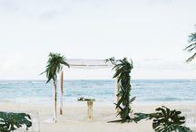 KUKUA BEACH CLUB // Punta Cana Weddings / Kukua is a elegant beach club that specializes in weddings in Punta Cana