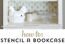 Bookcase decor ideas