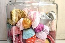 Coffee Filters and Cupcake Liners / by Beverly Lane