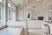 bathrooms and ideas / by Robin Weir Horner