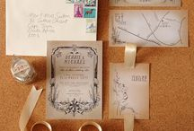 Things for stationery / Invitations say something about you