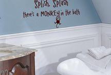Monkey Theme Bathroom / by Samantha Blake