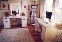 beauty makeup room
