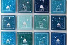 vánoční přání, vánoční nápady