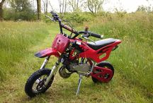 Pitbikes and dirtbikes / 49CC to 125CC
