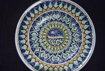 Мой дом. Декор. / Керамика со всего мира.Узбекские сувениры.Тарелки,вазы,пиала,косушки