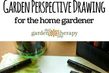 Garden design and drawing