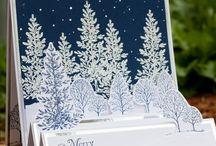 Cartoline di natale fatti a mano