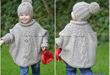 poncho fille