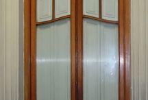"""Puertas Interiores vidriadas / Su casa tiene que tener """"LA PUERTA"""" todas en CARRARA http://www.carrarademoliciones.com.uy/ 22 03 52 17 / 22 00 68 11"""