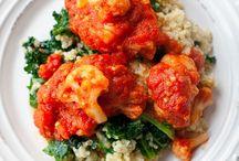 Obiady z dużą ilością warzyw / Przepisy na obiady wegańskie, wegetariańskie albo po prostu z dużą ilością warzyw