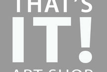 THAT'S IT ART SHOP / art gifts for every occasion