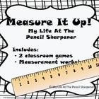 Math - Measurement / Standard and non-standard measurement as well as graphing ideas!