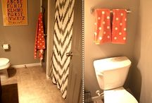 BATHROOMS / Lots and lots of subway tile