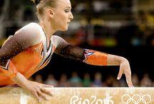 gymnastics and leotards
