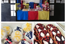Spiderman Birthday Party / by Racquel Jacobs