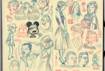 Illustration / clip art / by Vintage Vixen