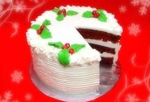 Christmas Cake. Decorating