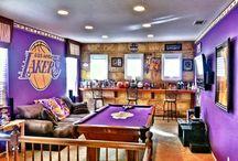 Lakers Mancave
