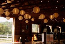 Paper Lanterns / Paper lanters by Hourglass Lighting
