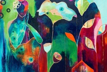 Mai-Britt Pirmo / akrylmalerier