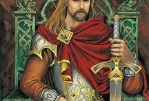 King Arthur Legends / The legends that got me to what I write about today. :) Hail, King Arthur! / by Juli D. Revezzo