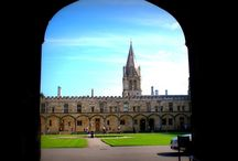 Oxford/ GB / Reise nach Oxford, Bilder aus den Colleges. Auch aus Christ Church College, dass als Kulisse für Harry Potter-Filme (Speisesaal, Hogwarts) diente