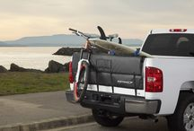 Softride Shuttle Pad - Truck Tailgate pad / Carry six bikes attached securely to your pad-protected tailgate - or haul surfboards, kayaks, lumber or other gear.
